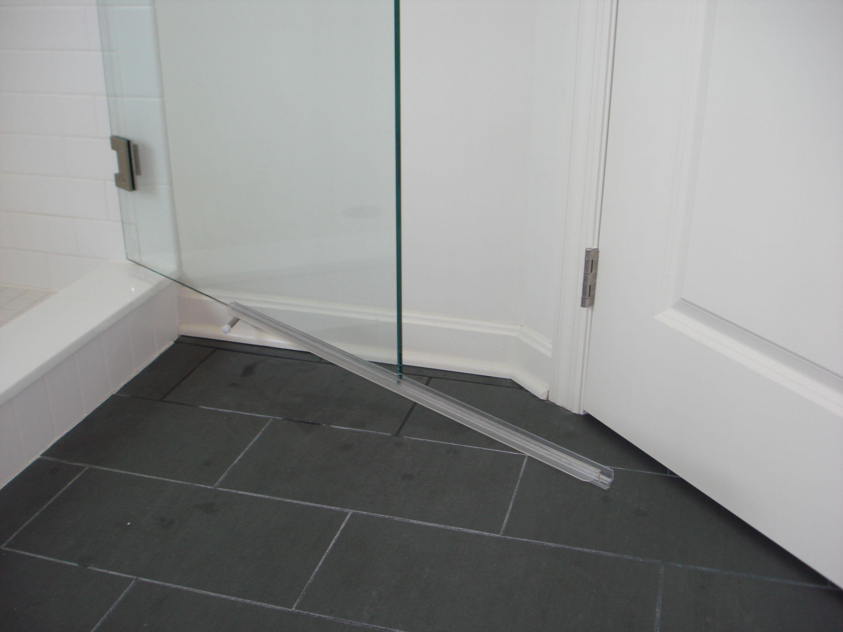 Glass Shower Door Water Guard Shapeyourminds