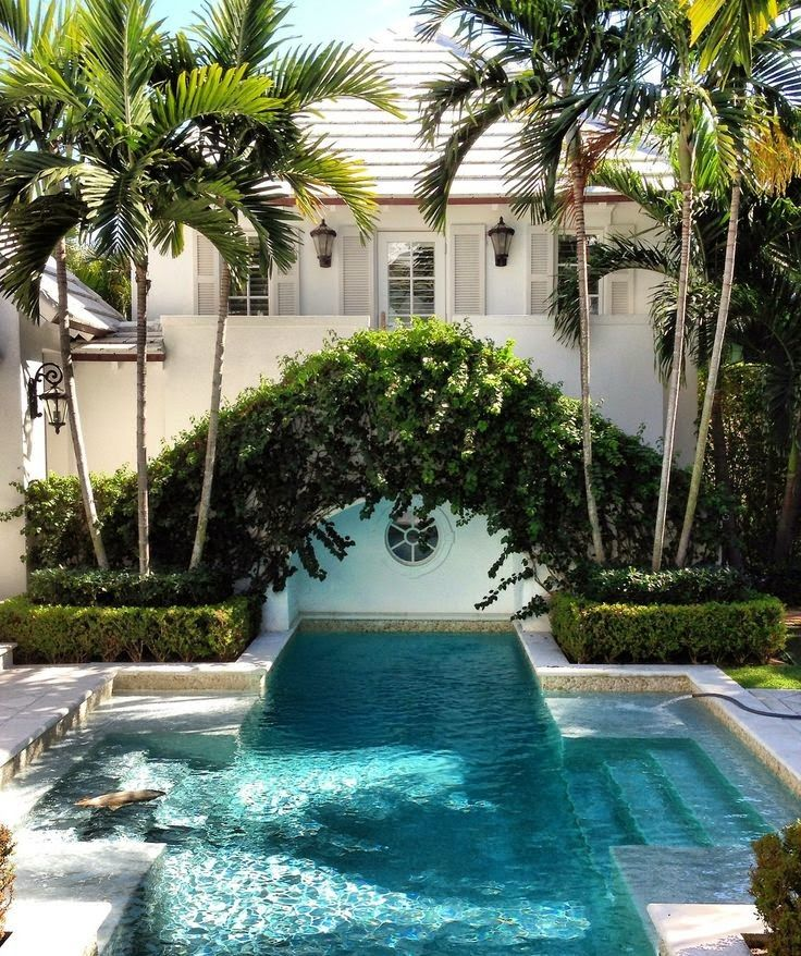 Dive Into This Zen Pool House With Rustic Flair: Wonderful Palmetto Life