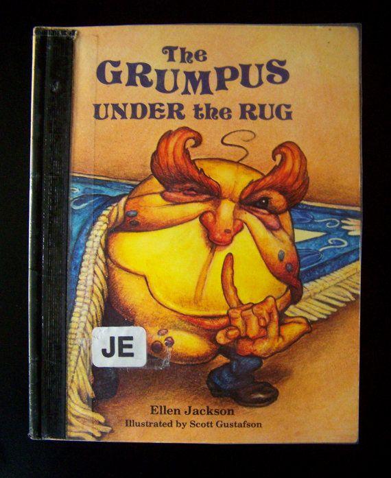 Kid S Book The Grumpus Under Rug 1981