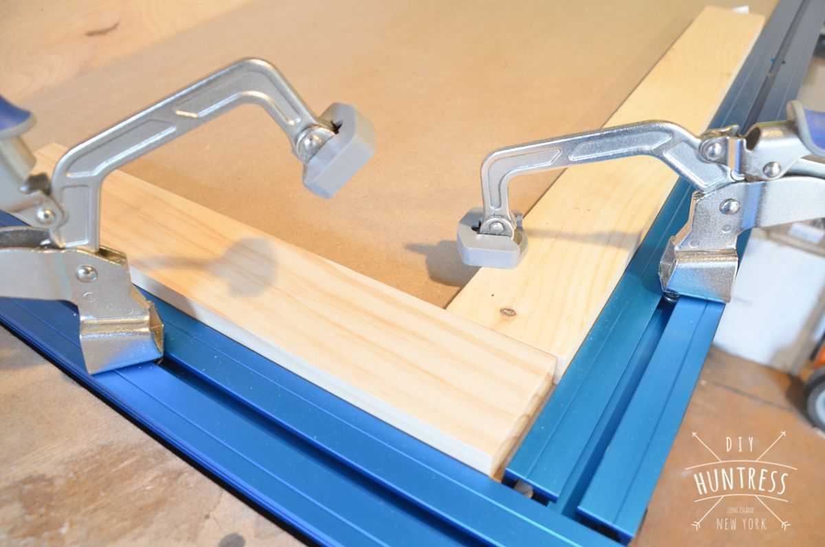 DIY Kreg Klamp Track Workbench | Kreg jig, Shop ideas and Wood working