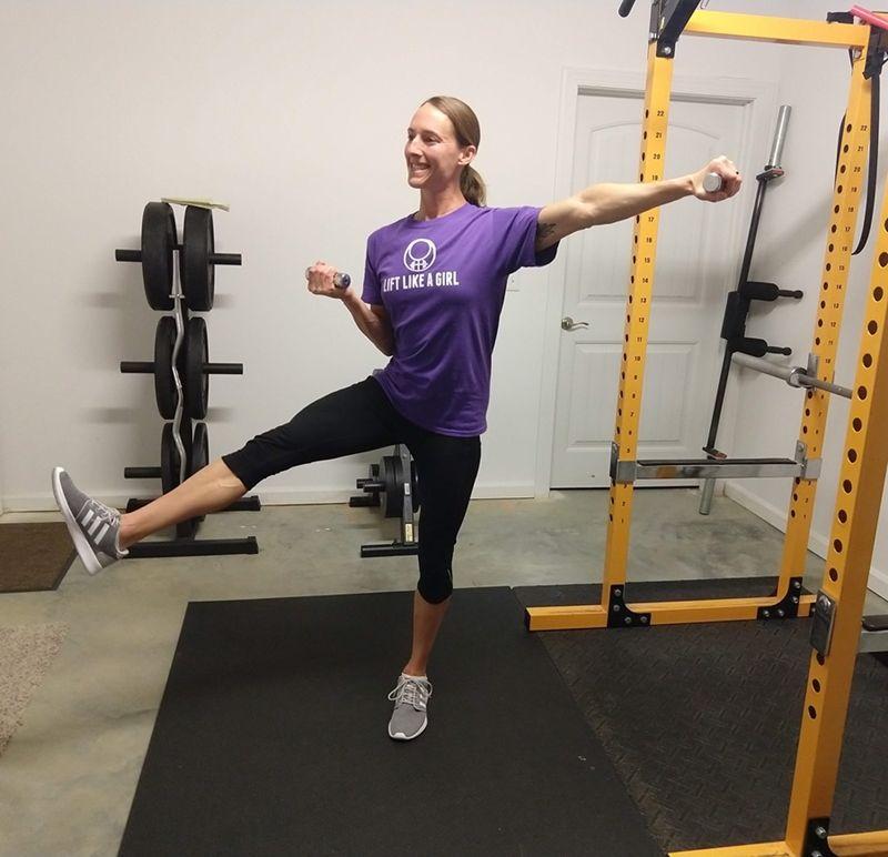 Lift Like a Girl Dumbbell Workout Program Dumbbell