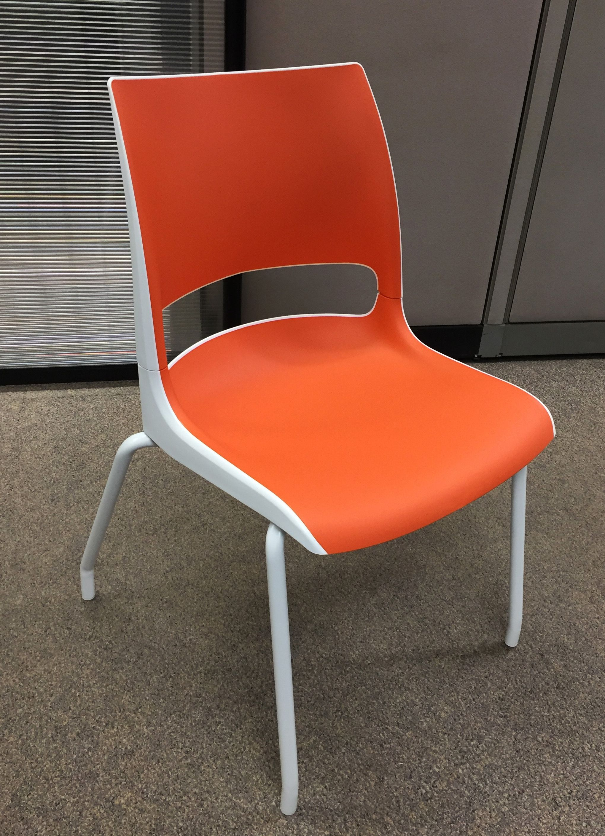Orange you glad we re showing off this Doni chair from KI Doni