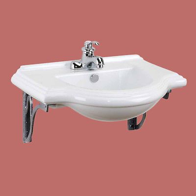 Find Great Deals For Classic Large Wall Mount Bathroom Sink Cast Iron  Brackets