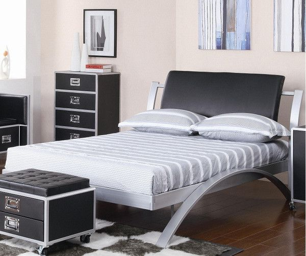 Leclair Twin Metal Platform Bed Platform Bedroom Sets Furniture Bedroom Furniture Sets