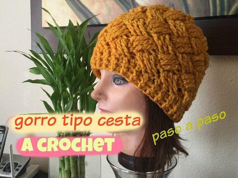 disfruta del precio de descuento tiendas populares sitio autorizado Como tejer un gorro a crochet con borde en punto puff (para ...