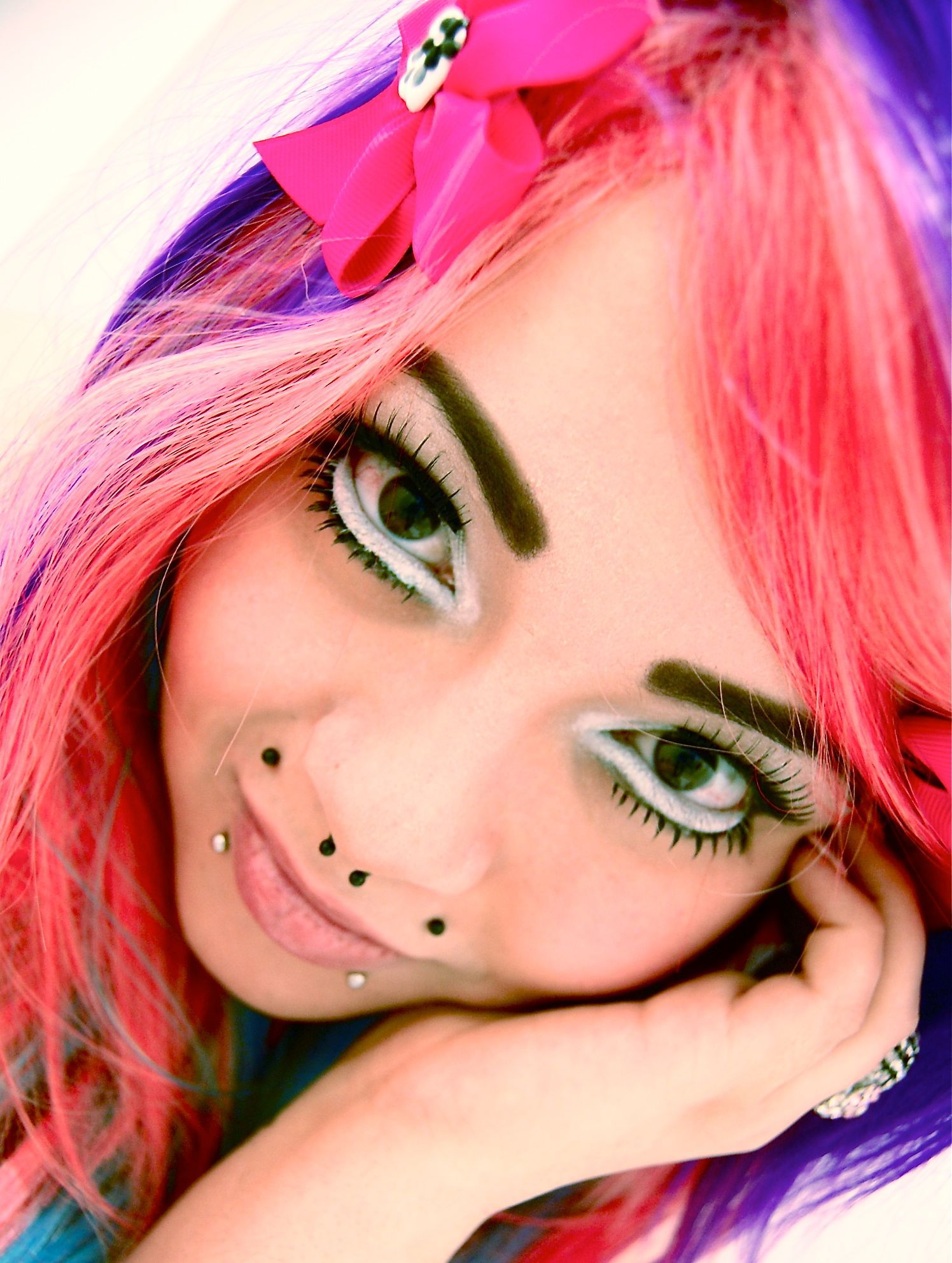 ANIME Inspired Makeup (With images) Makeup inspiration