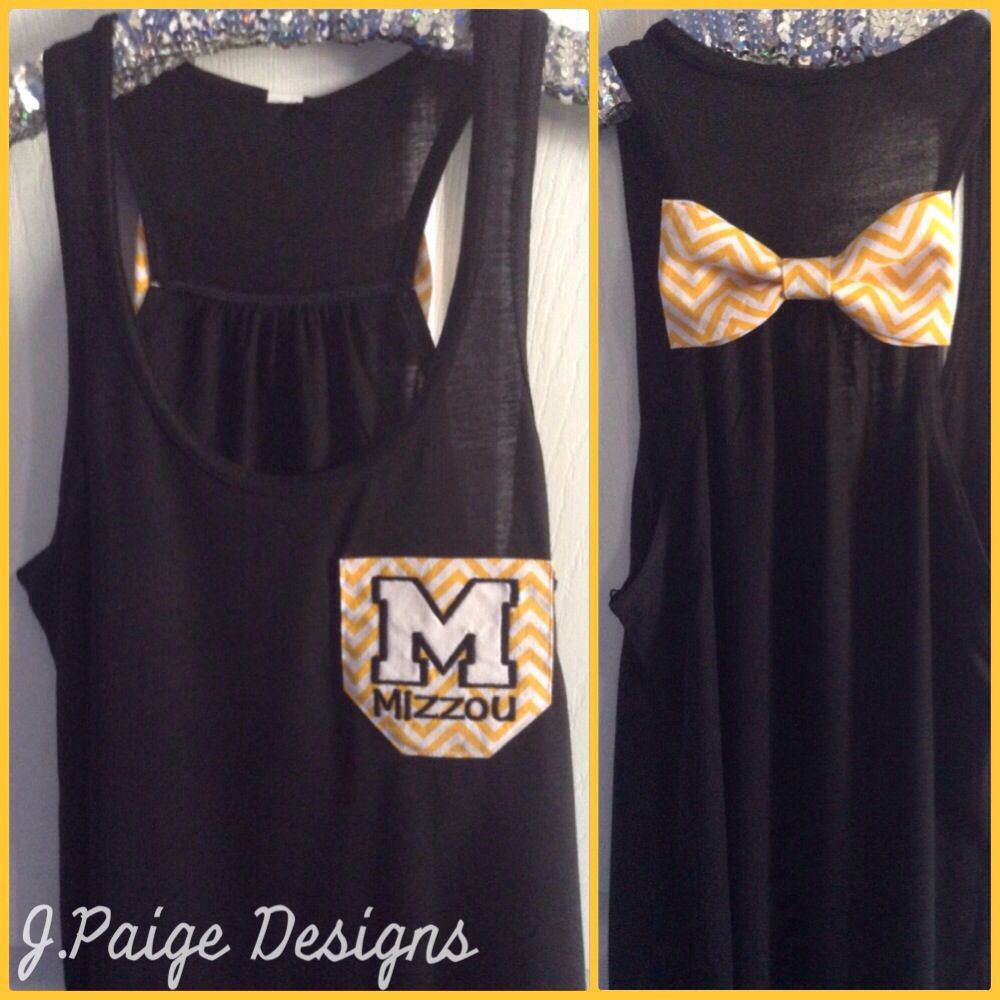 Mizzou Tigers Tank Top at J.Paige Designs To Order email jpaigedesigns13@gmail.com