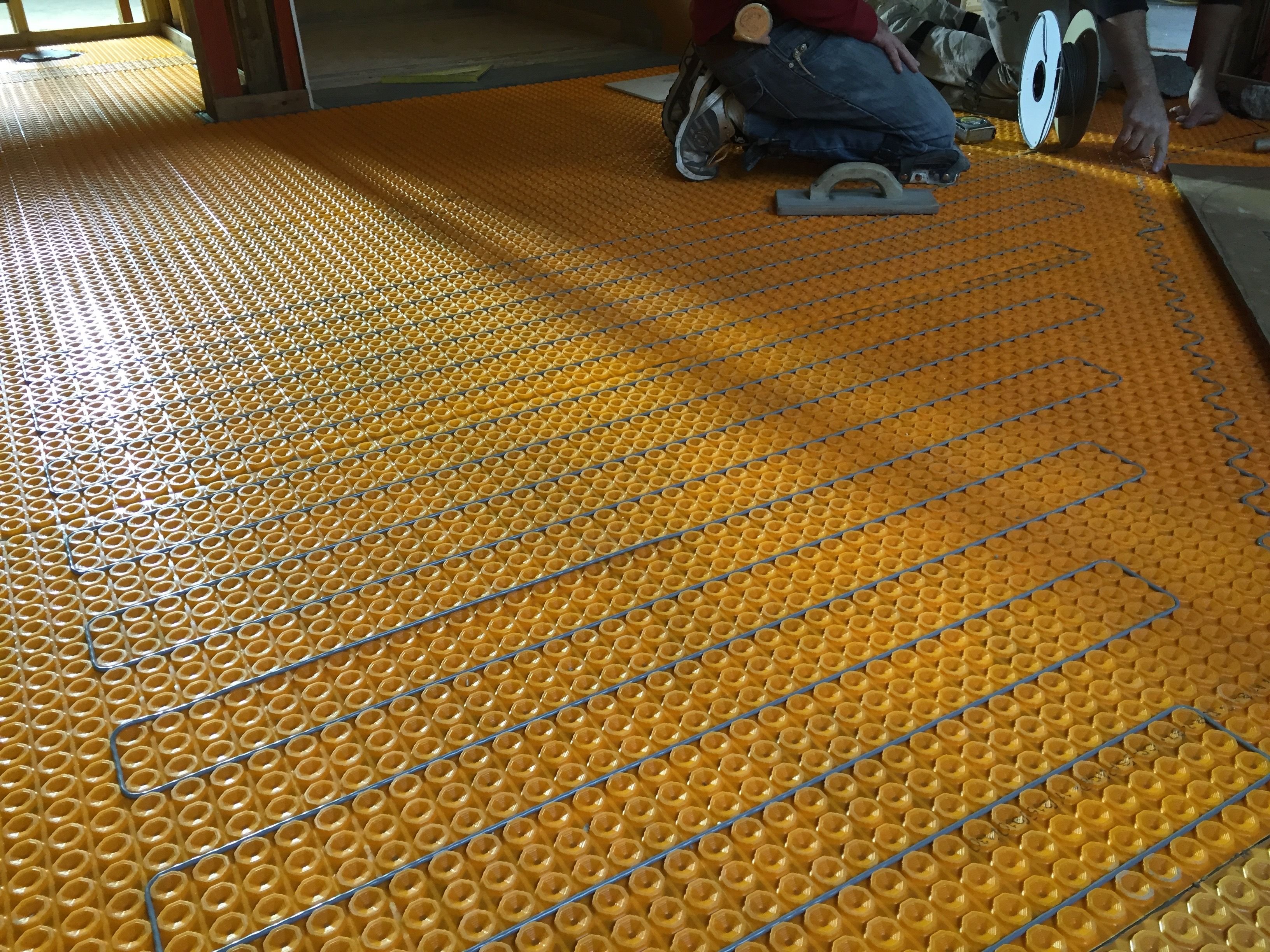 Floor Heat For Tile Floors Tile Installation Underfloor Heating Systems Tile Floor