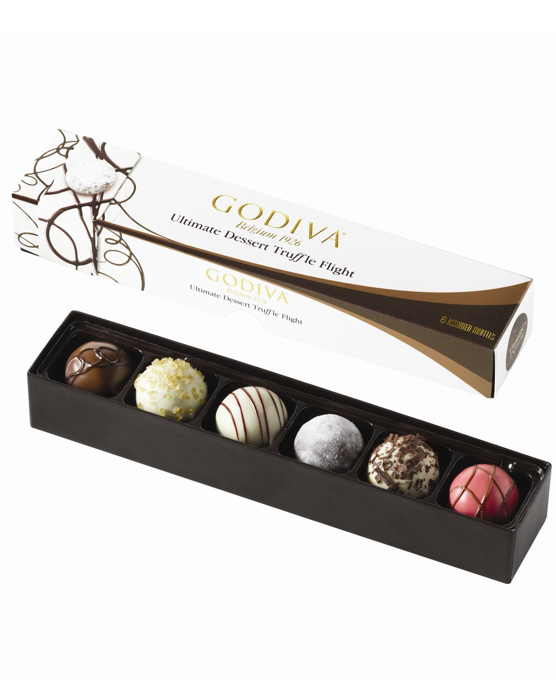 Godiva Chocolatier, 6-Piece Ultimate Dessert Truffle Flight
