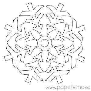 Manualidades f ciles para ni os en navidad copos de nieve - Manualidades para ninos faciles y divertidas ...
