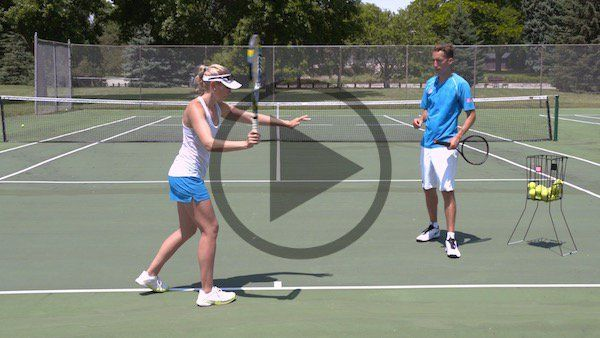 Massive Forehand Topspin Tennis Lessons Tennis Tennis Drills