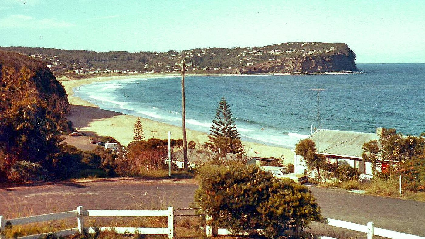 MacMasters Beach NSW view to Copacabana (1979
