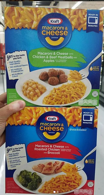Kraft Macaroni Cheese Frozen Dinners Chicken Beef Meatballs And Roasted Chicken Frozen Meals Macaroni Cheese Beef Meatballs
