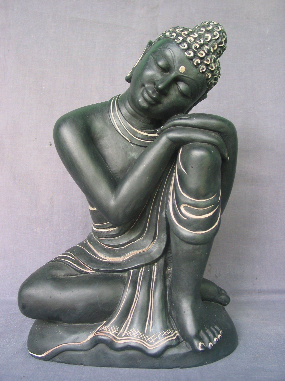 Buddha statue buddhist art sculpture home decor decorative - Bouddha statue deco ...