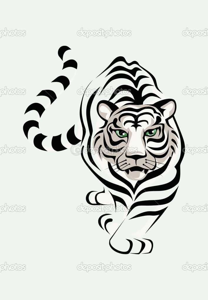 static3depositphotos 1001809 191 v 950 dep_1912801-Tiger - copy coloring pages of tiger face
