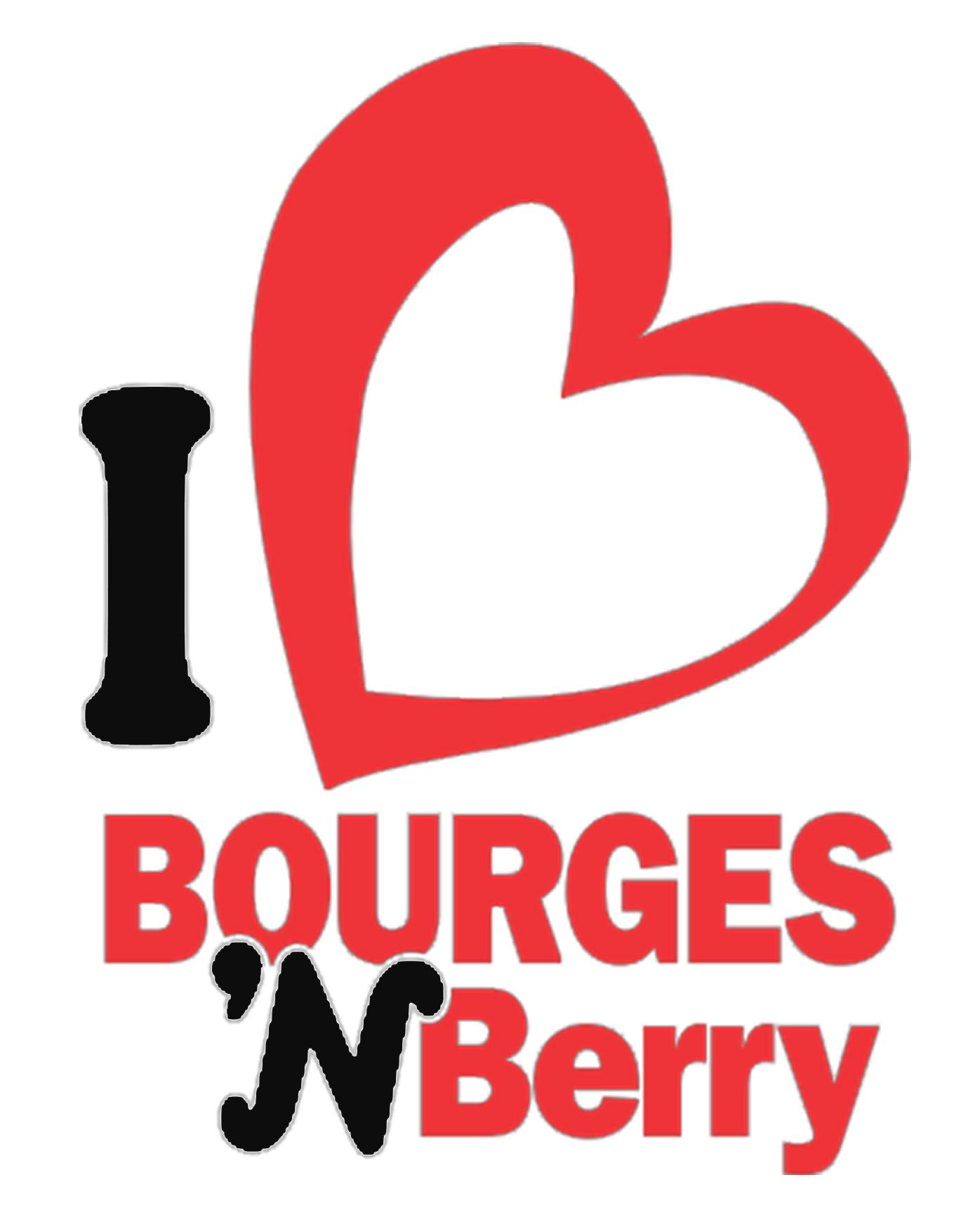 Logo de l 39 office de tourisme de bourges i berry love signs berries et signs - Office de tourisme bourges ...