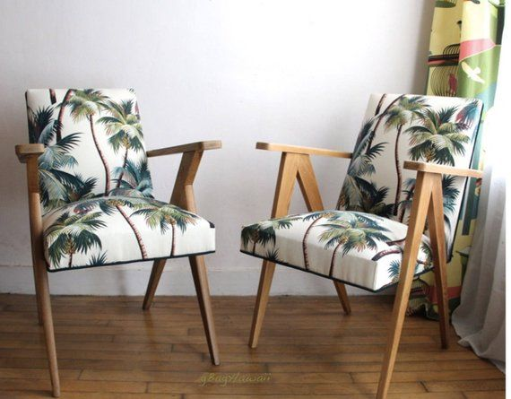 Outstanding Upholstery Palmtree Fabric Barkcloth For Hawaii Style House Caraccident5 Cool Chair Designs And Ideas Caraccident5Info