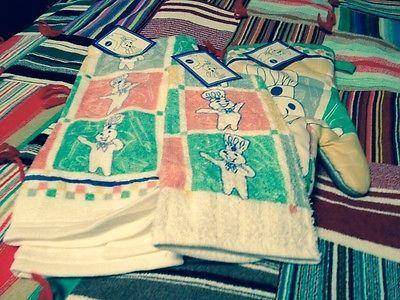 Pillsbury Doughboy Kitchen Towel Set Pillsbury Doughboy