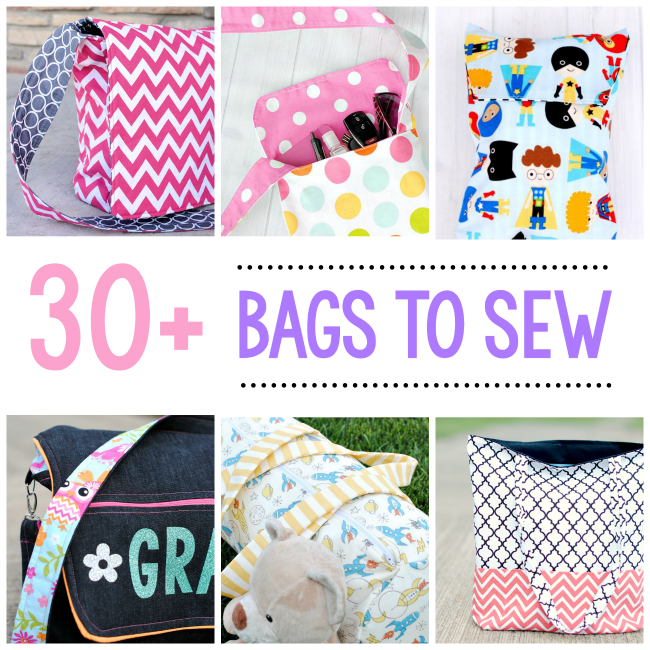 25 Bag Sewing Patterns | Sewing | Pinterest
