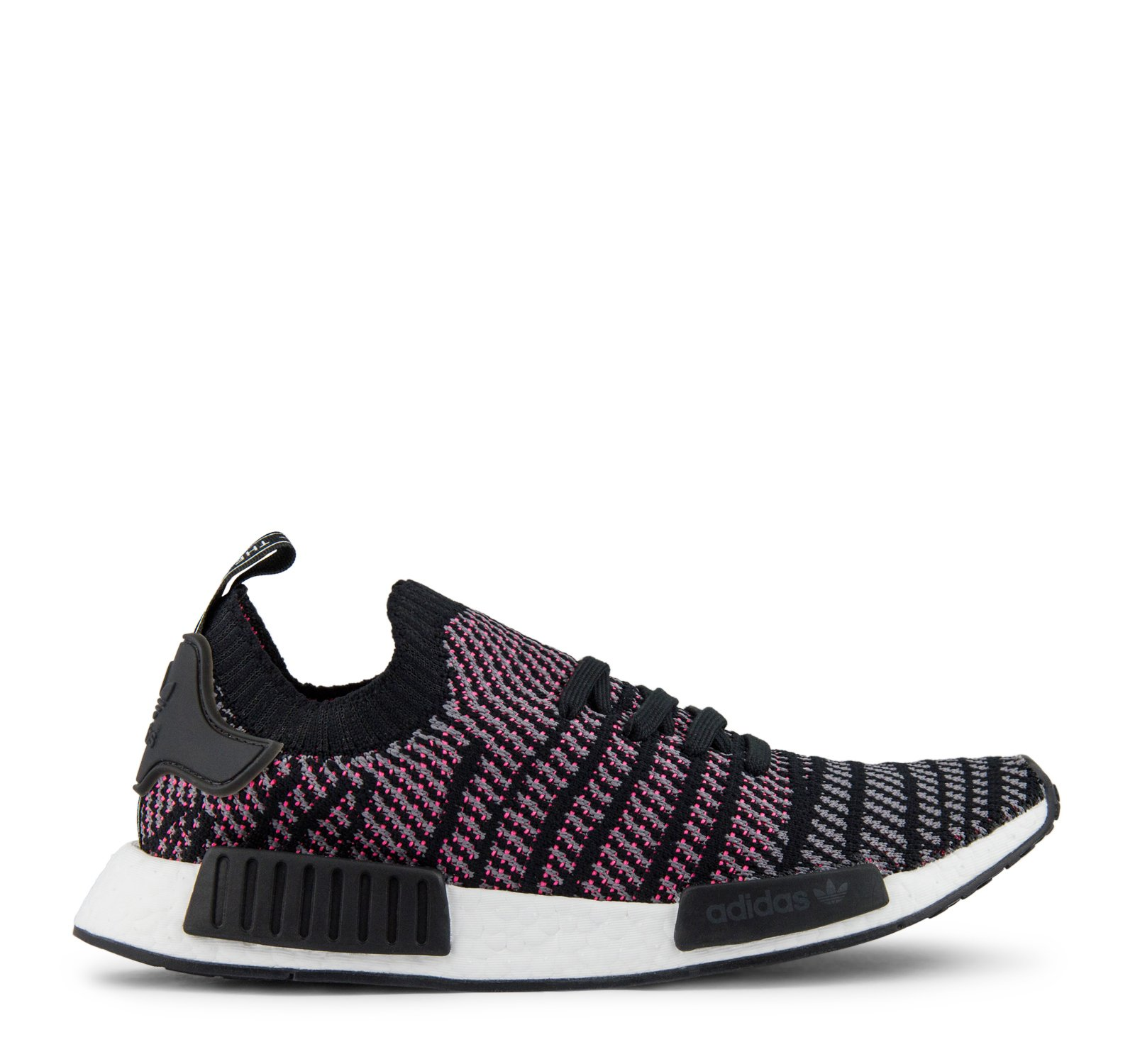 Adidas Originals NMD_R1 STLT PK CQ2386 - Black/Grey/Pink