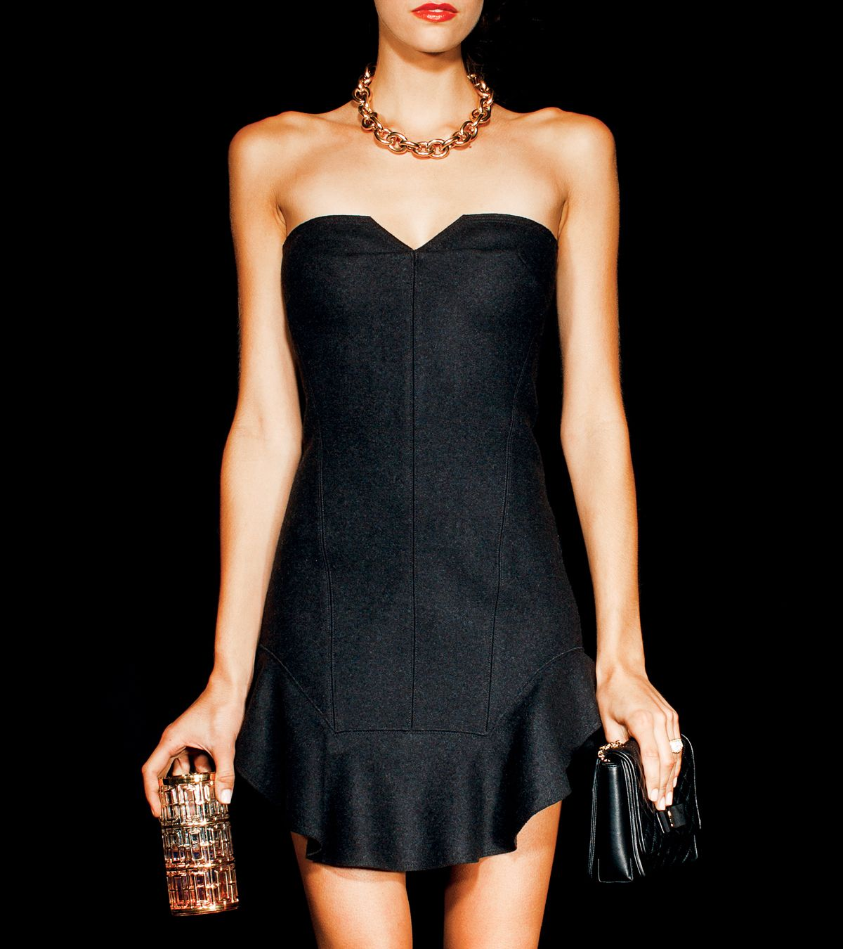 b1d0ab882ebf7 Noir and Piece  Little Black Dress + Jewelry   Holiday Party Look ...