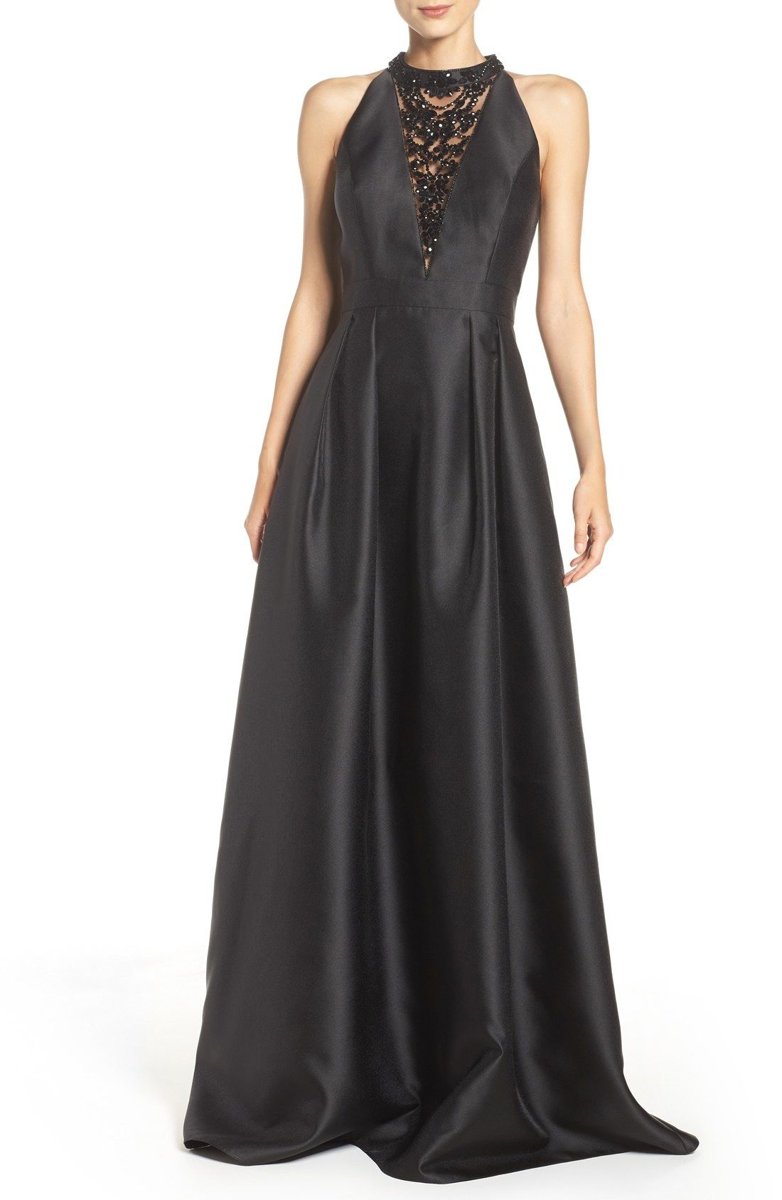 Adrianna Papell Mikado Ballgown | Nordstrom | Ball gowns ...