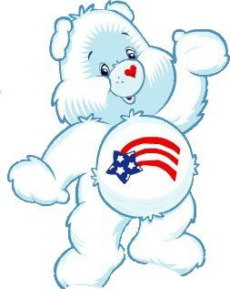 America Cares Care Bears Care Bears Bear America