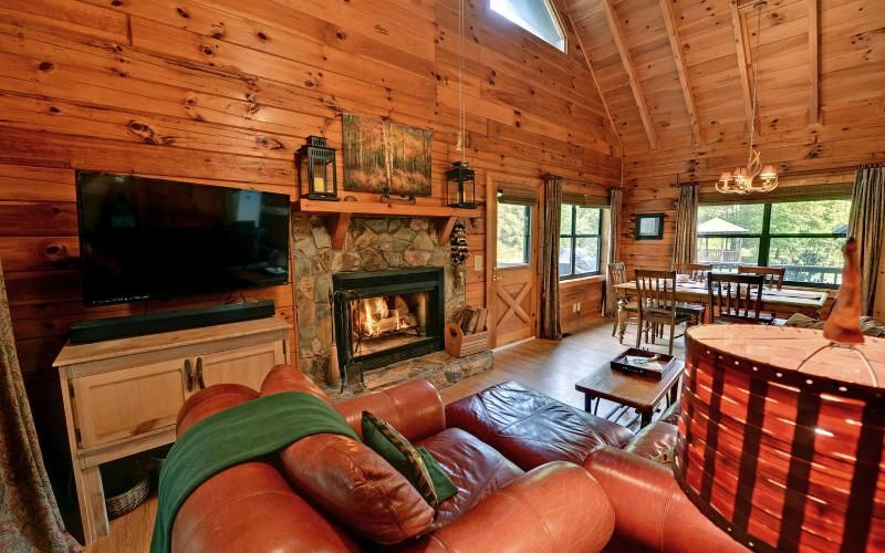 Attrayant Gorgeous Creek Front Cabin W/ Pond In Nat. Forest In Blue Ridge