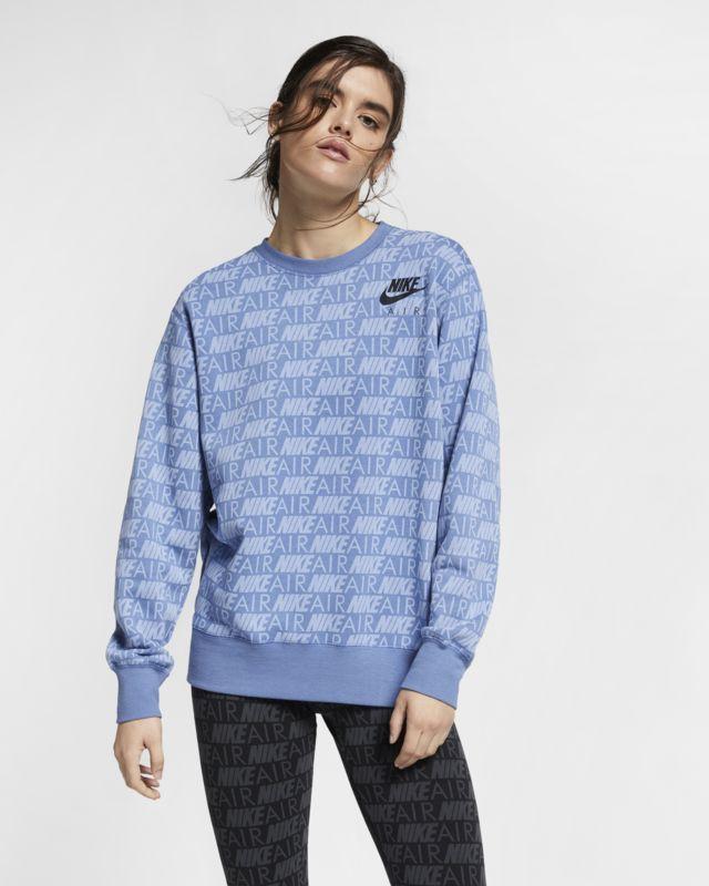 Nike Dri FIT Get Fit Fleece Sweatshirt Women echo pink white