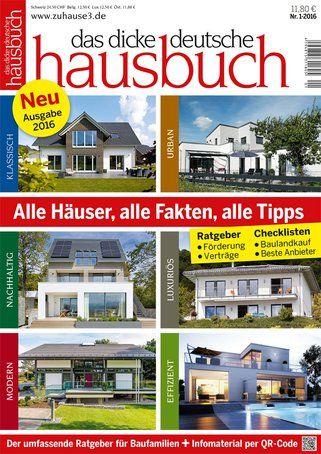 Das Dicke Deutsche Hausbuch 2016 Zuhause3 De Bauhaus Hauser