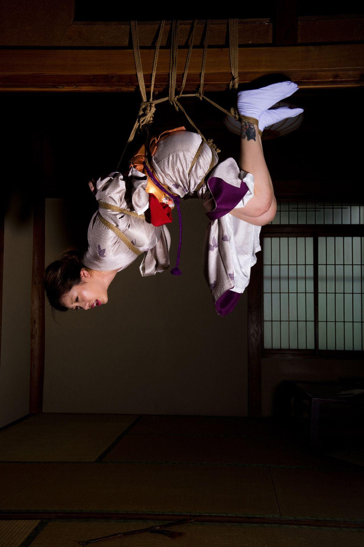Kinbaku, Shibari  Self Bondage  Japanese Bandage -9294