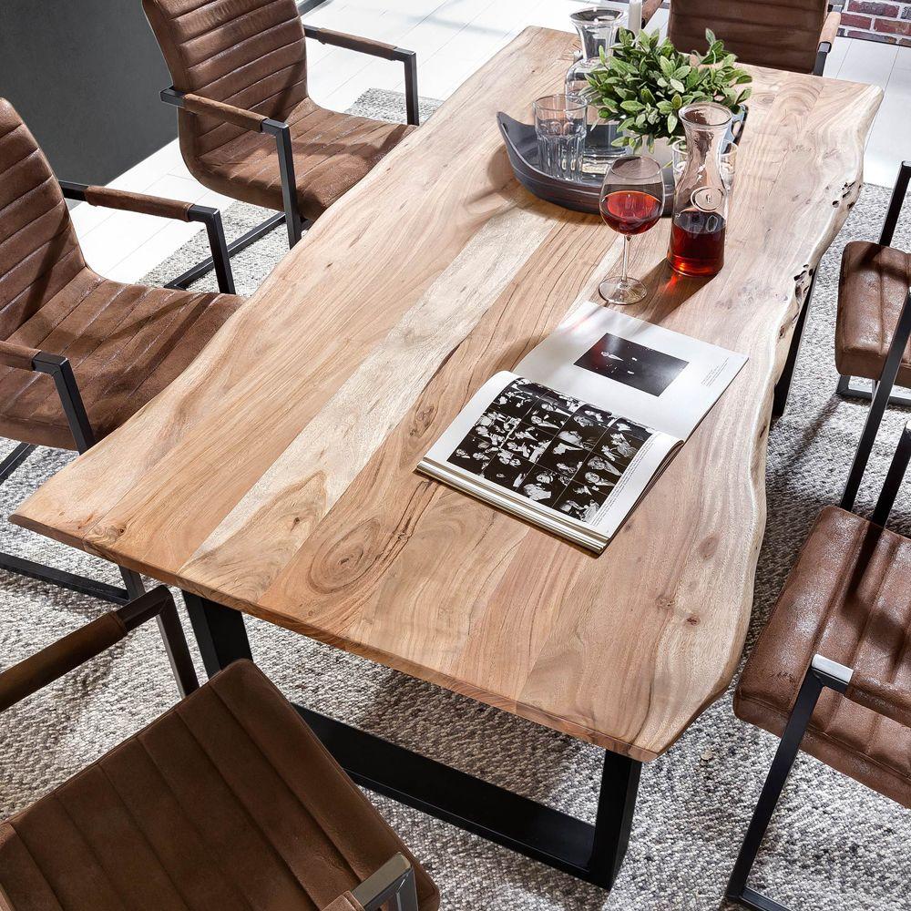 Liebenswert Tisch Esszimmer Sammlung Von Mit Baumkante Eisengestell Jetzt Bestellen Unter: Https://moebel.ladendirekt.de/kueche-und-esszimmer/tische/esstische/?uid=dfe48dc9-1226-540f-b3a1-