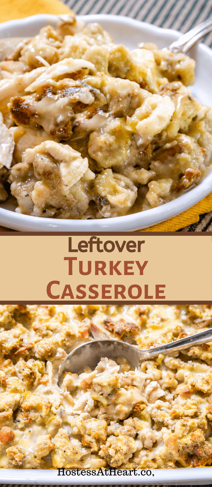 Leftover Turkey Casserole - Only 3 Steps! | Hostess At Heart