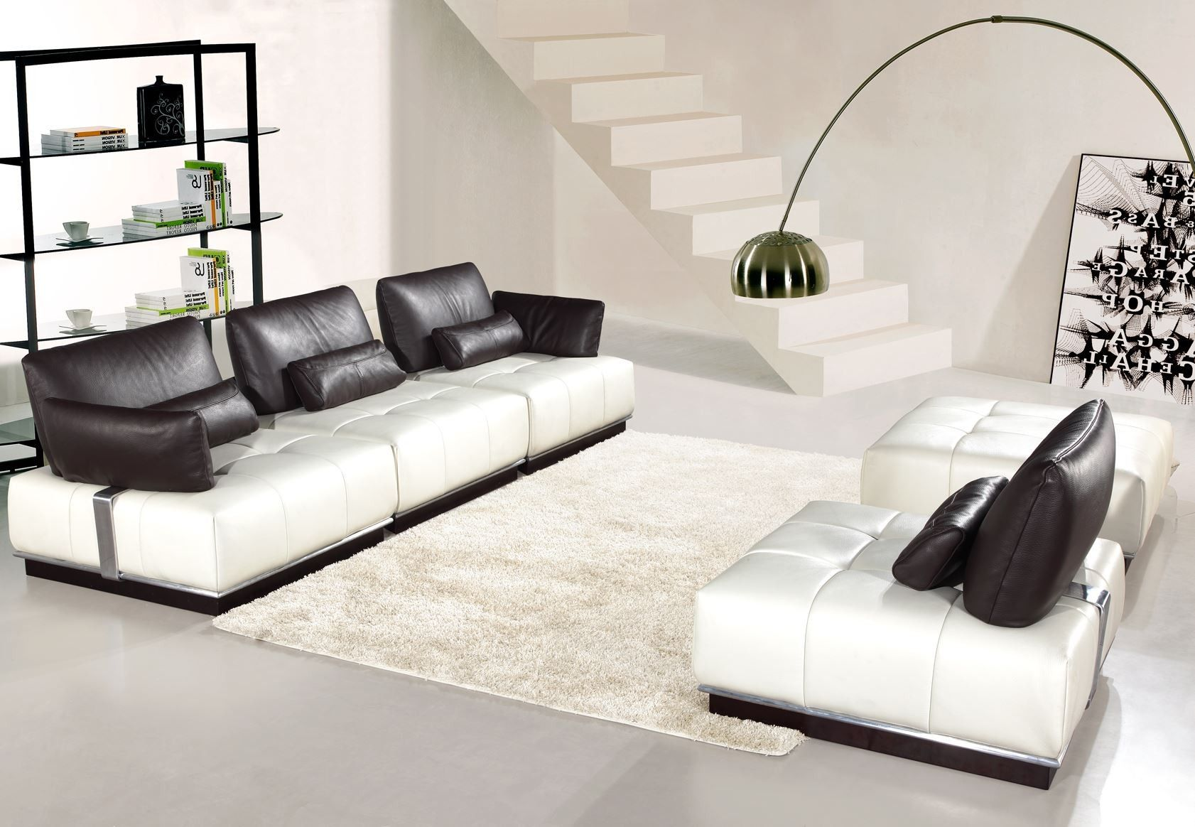 Placing The Elegant Modular Leather Sofa Uk S3net Sectional Sofas