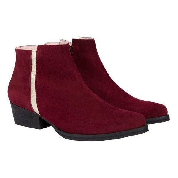 Joe Red Low Boots Coralie Masson ( 1 3c86f906d0
