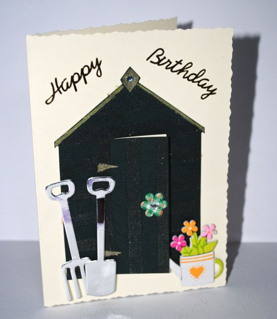I Love My Allotment Birthday Card Greeting Card