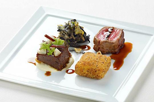 Daniel restaurant, New York, NY Food, Food presentation