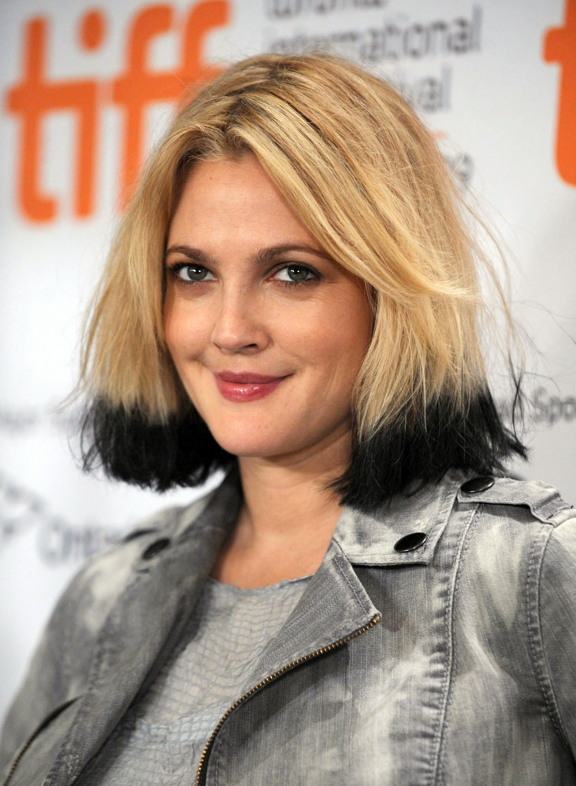 Drew Barrymore The Queen Of Dip Dye Ombre Hair