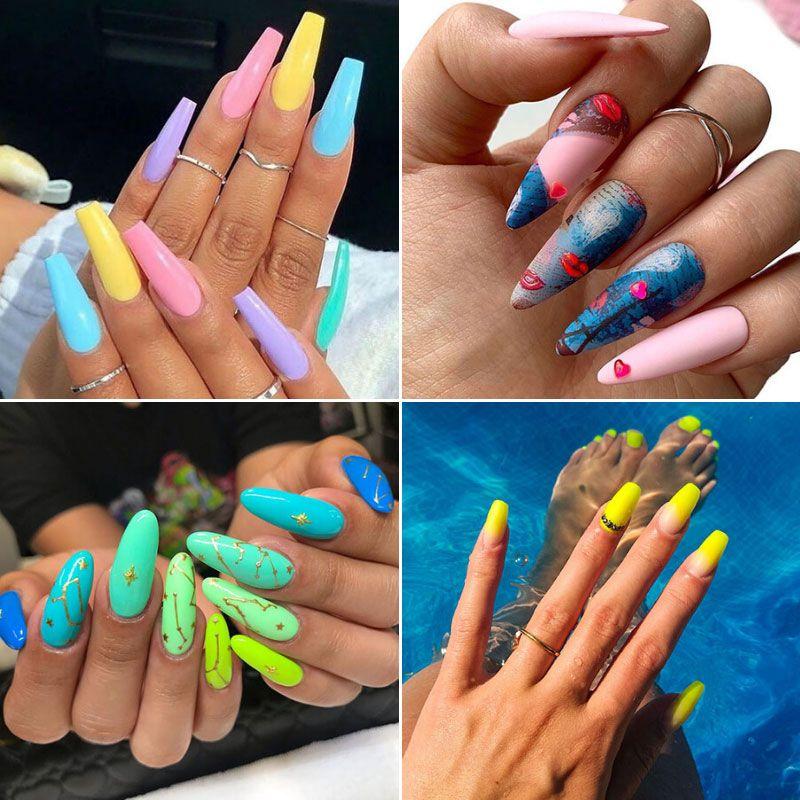125 Cute Summer Nail Designs: Colorful Ideas, Trends & Art ...
