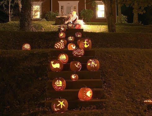 Coastal Pumpkin Carving Ideas