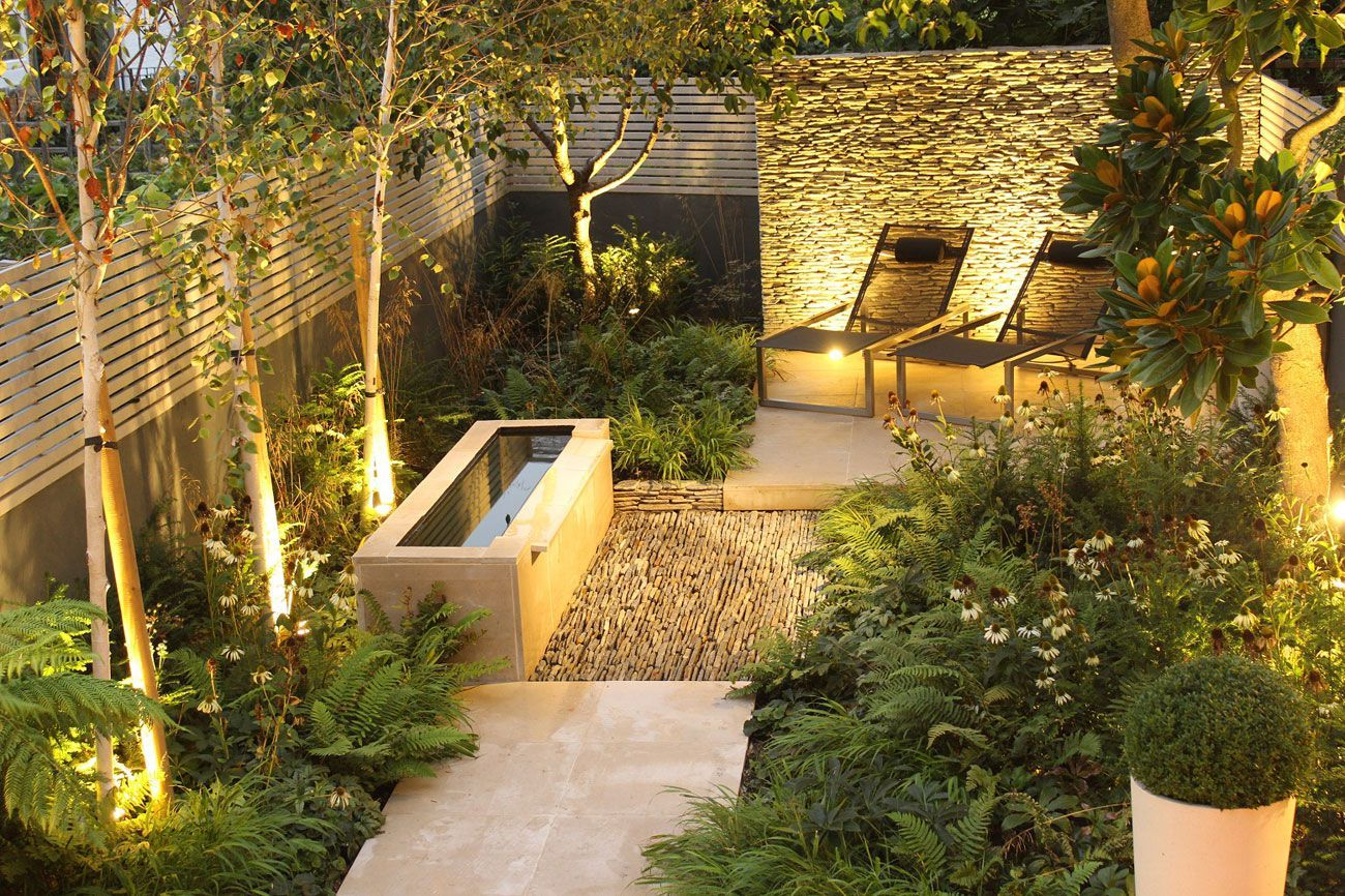 Delighted Stone Wall Garden Ideas Images - The Wall Art Decorations ...