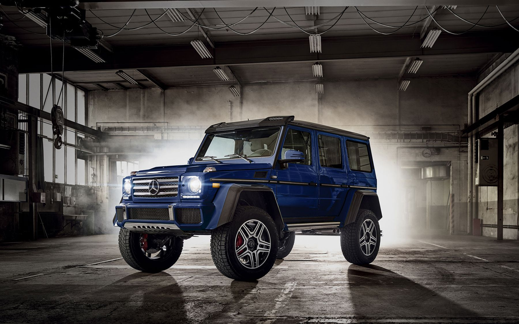 Elegant and rugged the versatile Mercedes 2017 G Class SUV is a