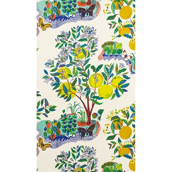 schumacher citrus garden fabric