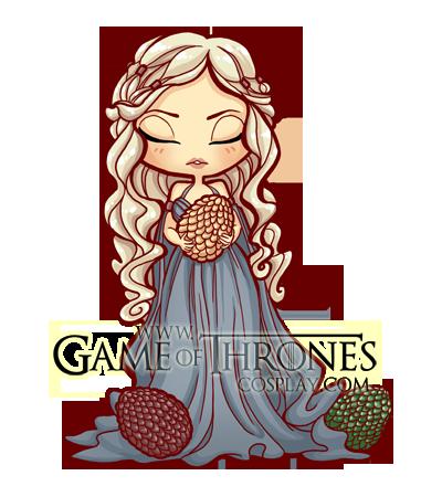 Daenerys Targaryen Chibi Puppet By Belledamesansmerci On