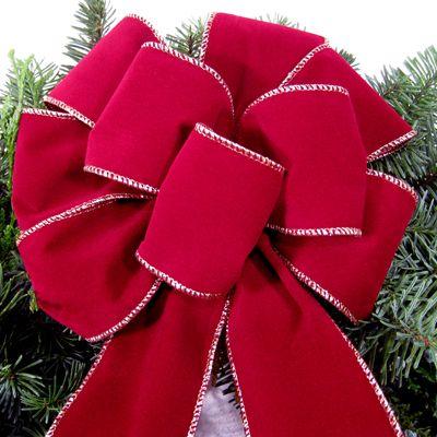 C mo hacer lazos de navidad a ade el toque perfecto a sus - Como realizar adornos navidenos ...
