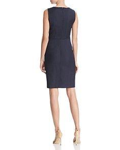 833913a3f4495 Elie Tahari - Rosario Micro Plaid Sheath Dress | fashion likes ...