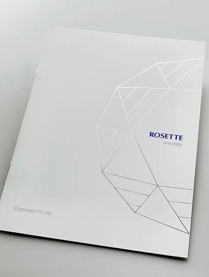 化粧品ブランド 企業案内デザイン制作 画像あり パンフレット