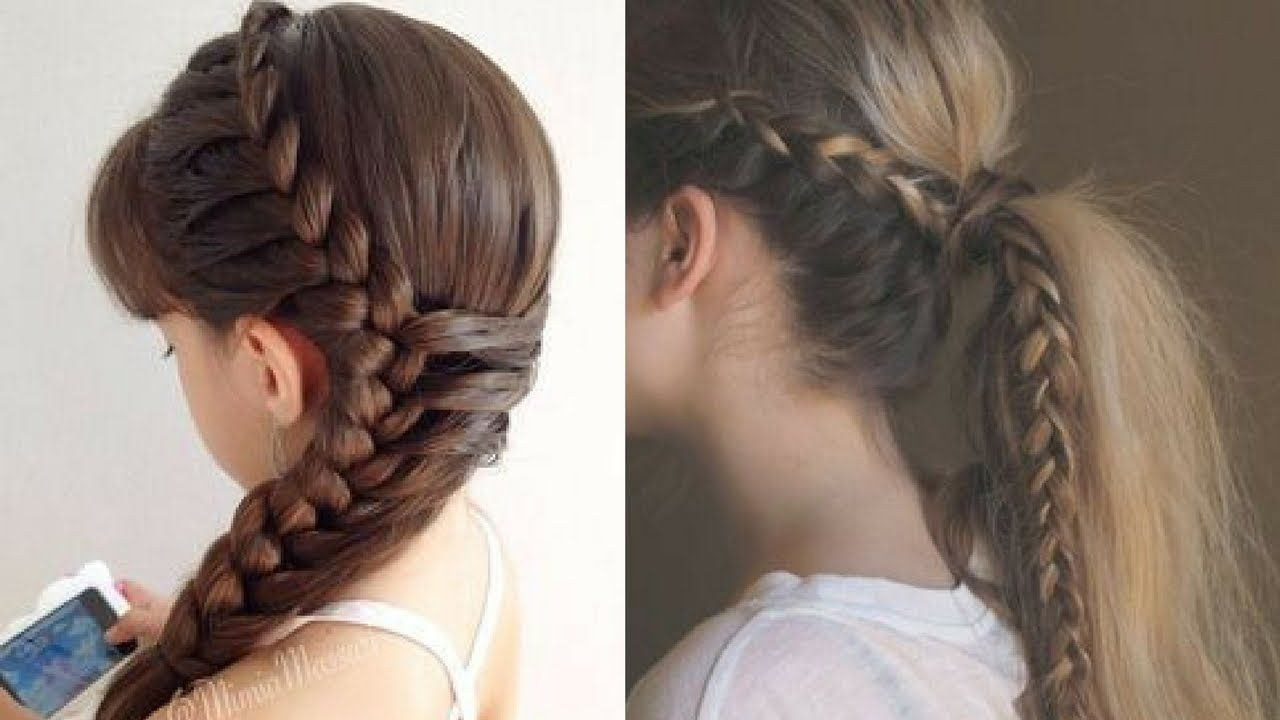 Easy Everyday Hairstyle for Ladies  Girls Hairstyle. #12  Easy
