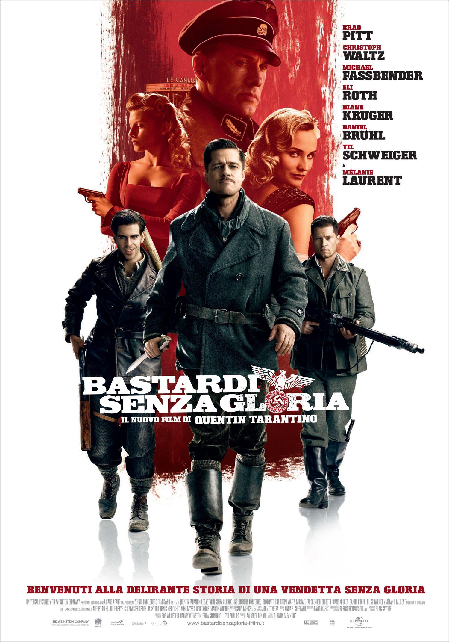 """Inglourious Basterds"" by Quentin Tarantino"