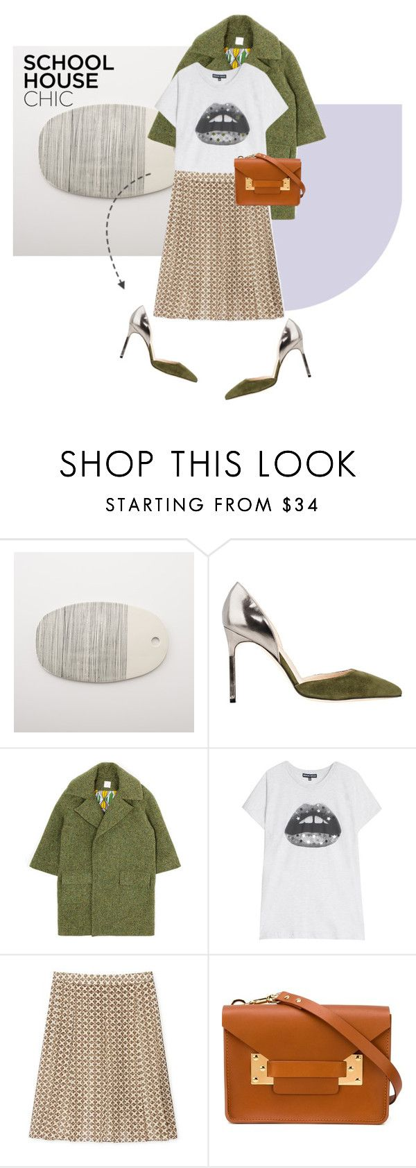 """""""Schoolhouse Chic"""" by pattykake ❤ liked on Polyvore featuring Therapy, Manolo Blahnik, Stella Jean, Markus Lupfer, Tory Burch, Sophie Hulme, ToryBurch, manoloblahnik, stellajean and SophieHulme"""